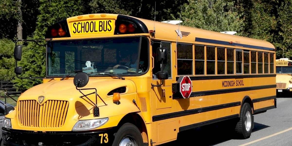 """Pánico y terror en el bus escolar: conductora borracha se pasó tres rojas con decenas de niños y gritando """"estoy loca"""""""