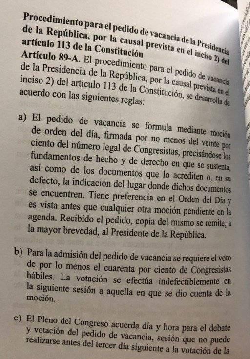 Constitución del Perú