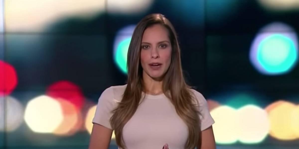 """Debería estar prohibida"": le dicen a Laura Acuña por sensual pinta que usó en 'Noticias RCN'"