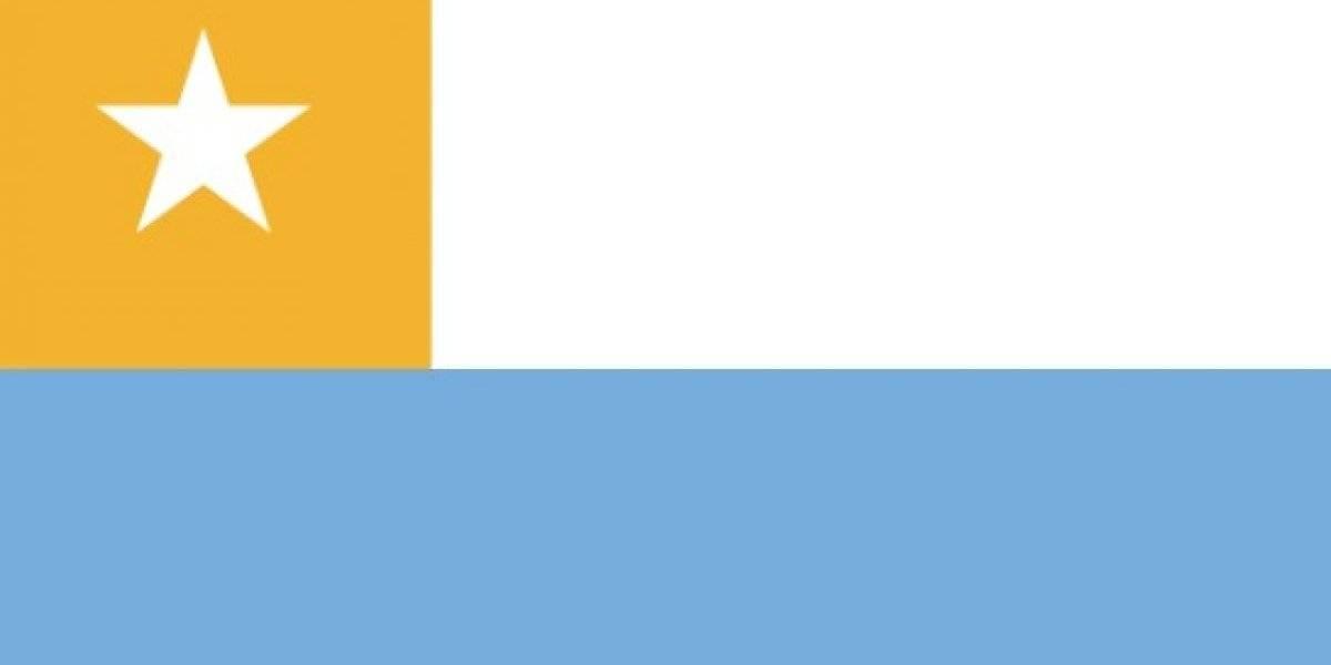 """""""Ni San Martín y O'Higgins se habían atrevido a tanto"""": tuitero creo """"Argeile"""" uniendo las banderas de Chile y Argentina y esta fue la reacción de las redes sociales"""