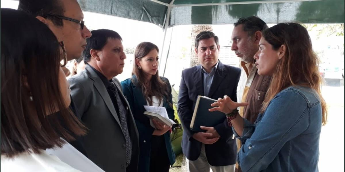 Andrea Fiallos: Allanaron inmueble donde estarían sus hijos en La Puntilla, pero no los encontraron