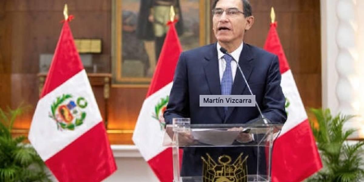 Presidente del Perú disuelve el congreso tras designación de magistrado al TC