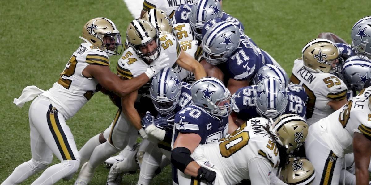 Saints le propina primera derrota de la temporada a los Cowboys