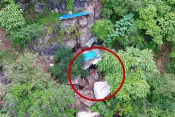 Hallan con dron a fugitivo en montañas de hace 17 años (FOTOS)