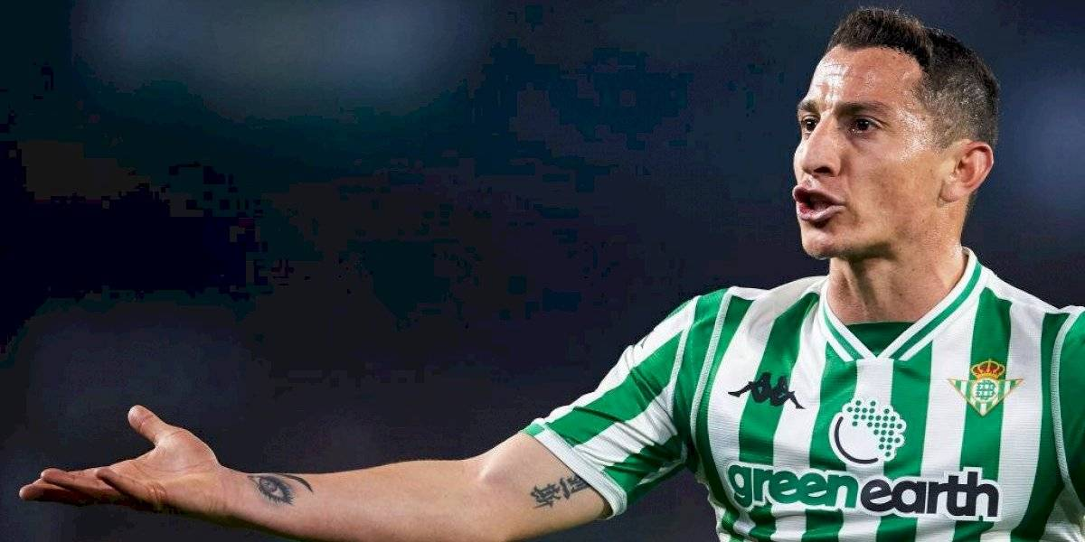 """Andrés Guardado sobre Lainez: """"Es muy distraído"""""""