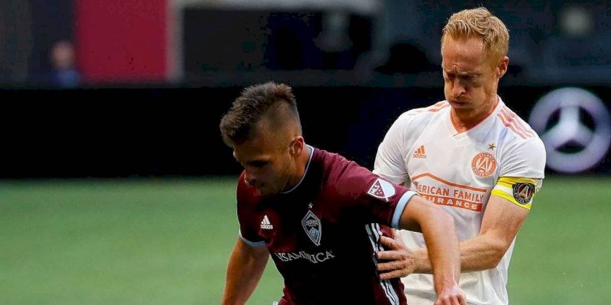 Diego Rubio marcó un golazo en la categórica victoria del Colorado Rapids sobre FC Dallas por la MLS