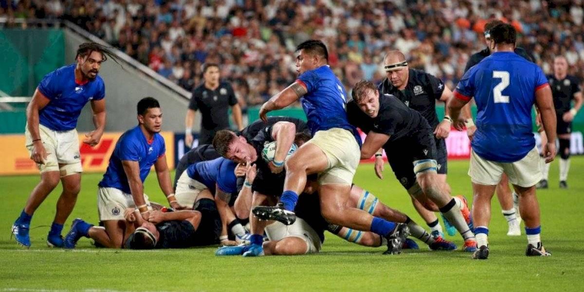 Escocia barre a Samoa y se prende en el Mundial de Rugby de Japón