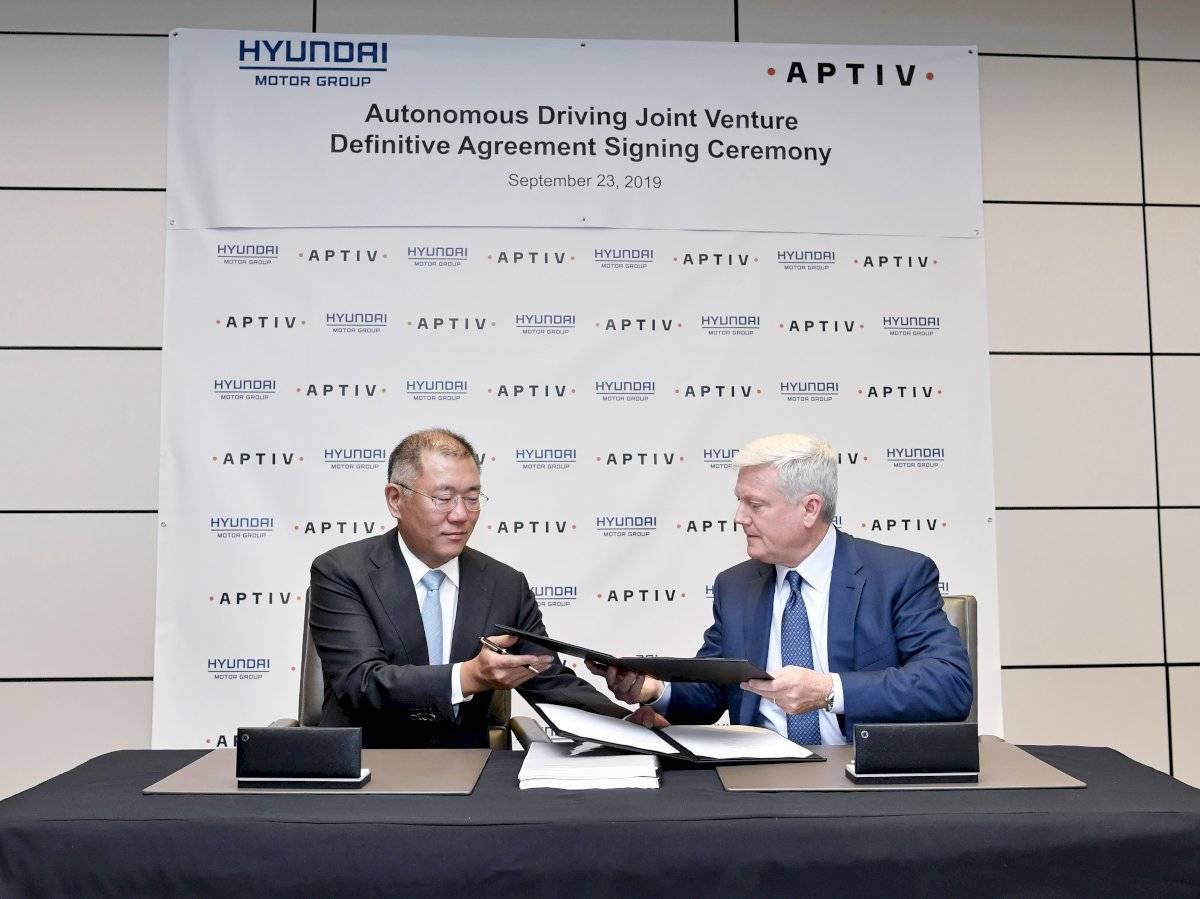 Hyundai y Aptiv