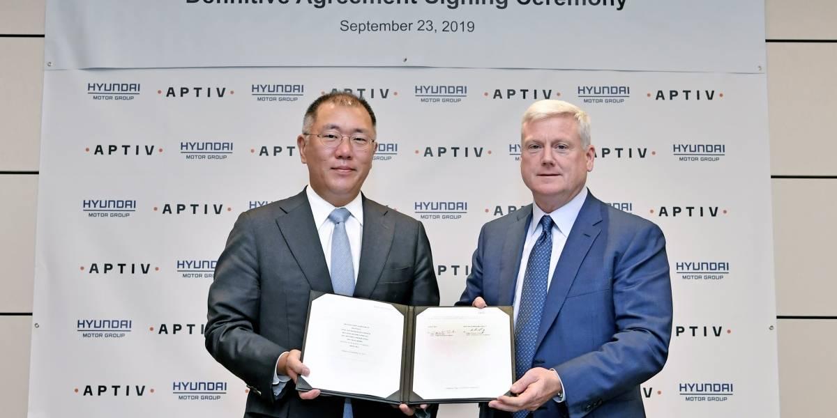 ¿Cómo Hyundai Motor Group y Aptiv colaborarán para los autos del futuro?