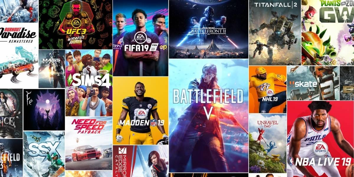 EA Access: Una suscripción de videojuegos bastante atractiva