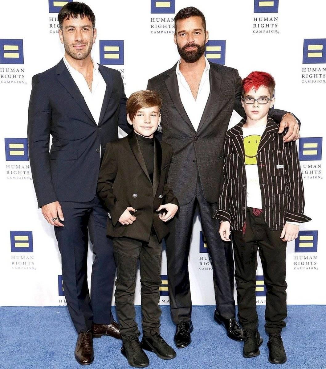 hijo de Ricky Martin