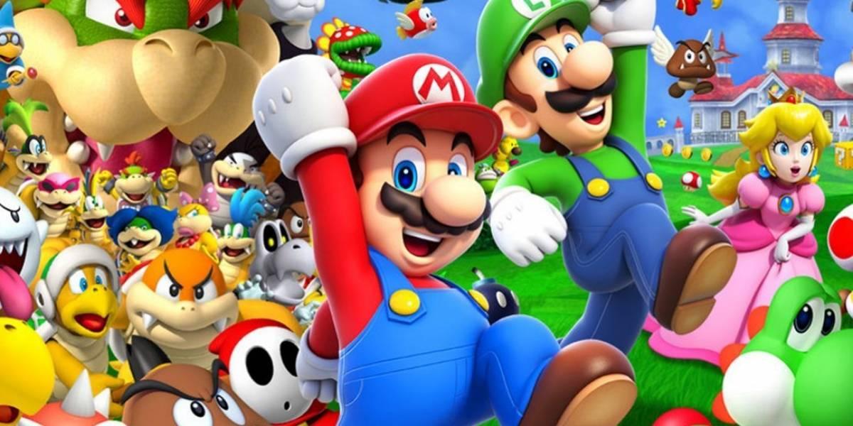 Una familia elabora un juego basado en The Super Mario Bros: Super Show