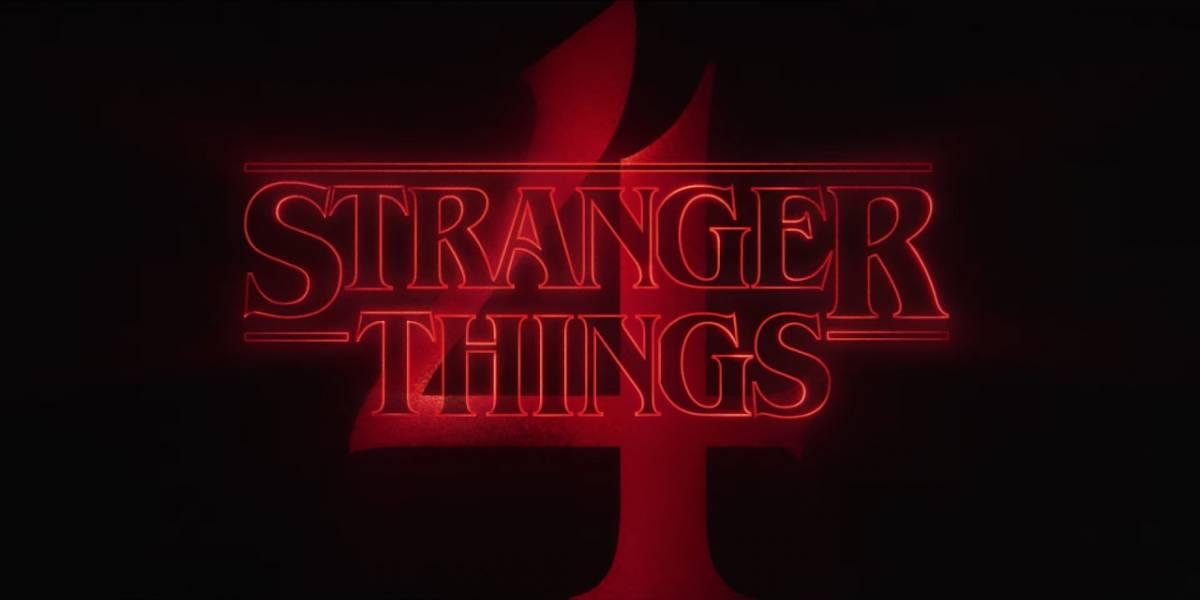 Stranger Things estrena tráiler de su cuarta temporada