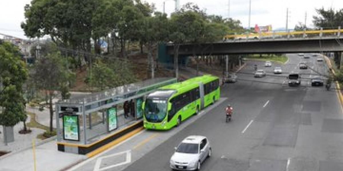 Línea 7 del Transmetro inicia funciones
