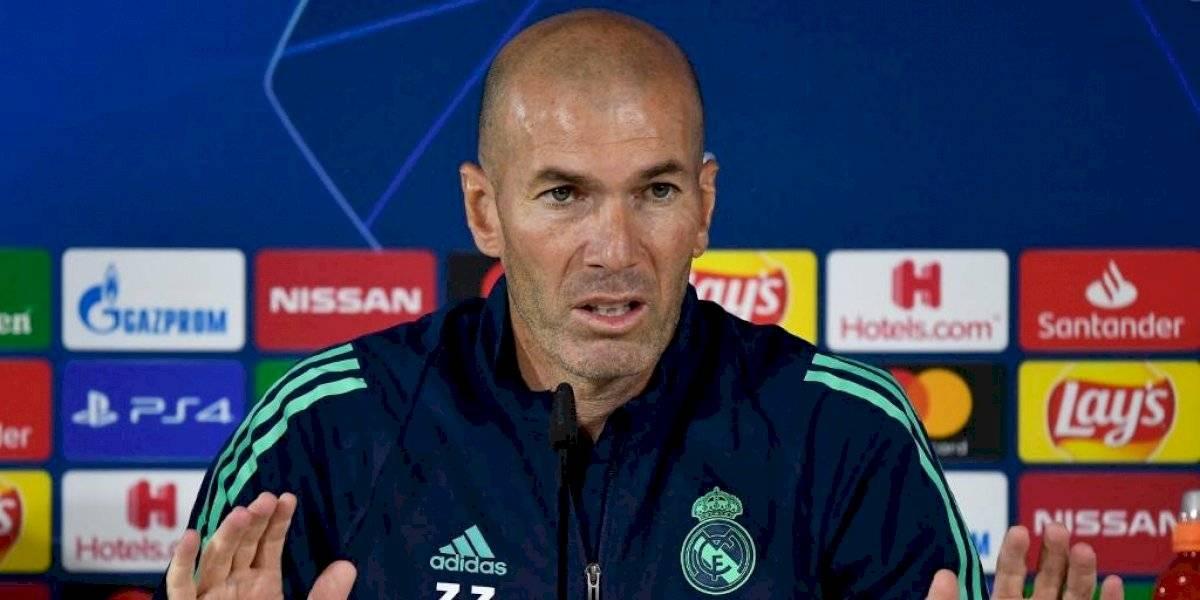 Zinedine Zidane y Eden Hazard hablaron en conferencia de prensa
