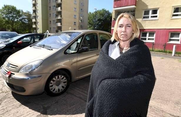 mujer vive auto husky birminghammail