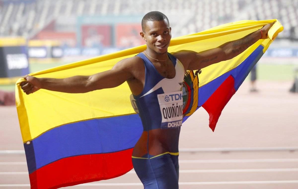 Resultado de imagen para alex quiñonez bronce Mundial 2019