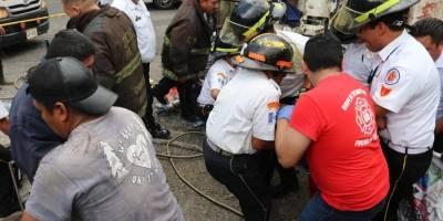 accidente de camión en Ciudad Peronia