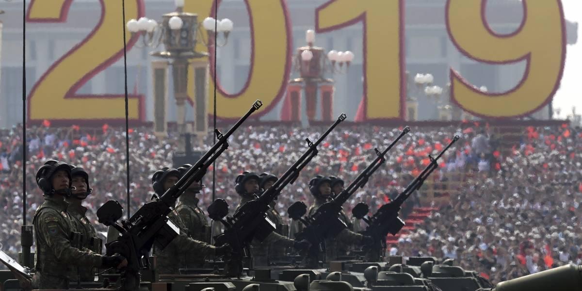 Hasta con su monstruoso misil nuclear: así China ostentó su poderío económico y militar por los 70 años del Partido Comunista al mando