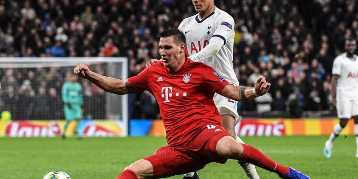 Bayern Múnich goleó a Tottenham 7 -2. Revive los goles del partido