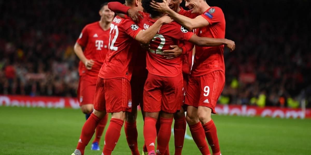 Bayern se luce y aplasta al Tottenham Hostpur