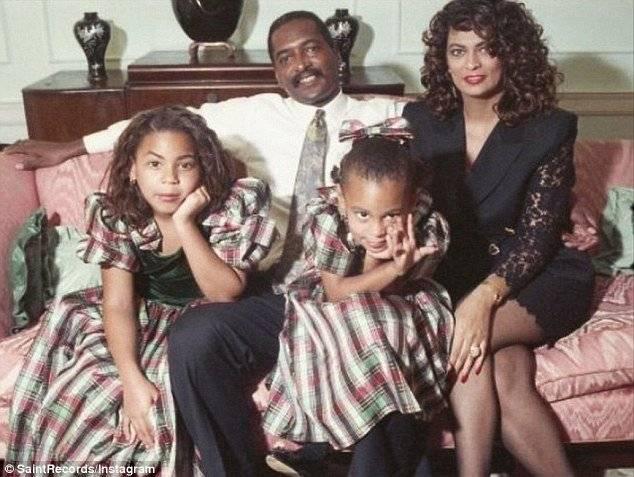 Beyonce y su familia