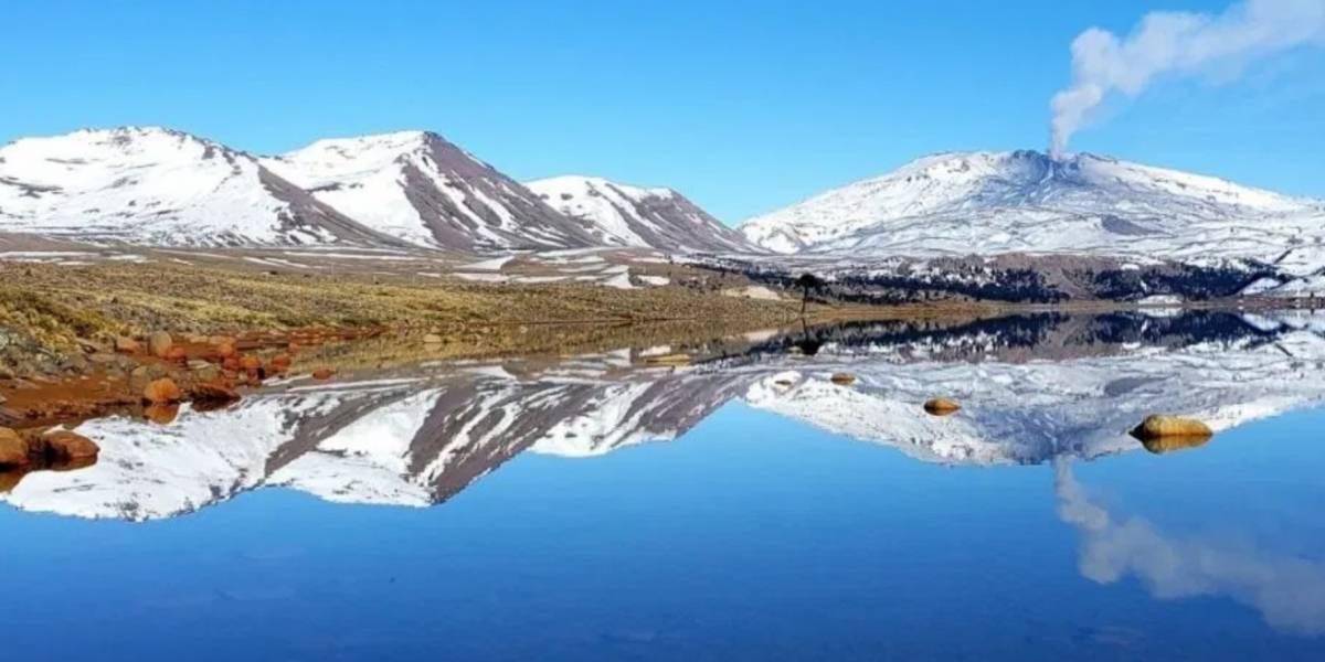Chile: Declaran alerta naranja en Volcán Copahue por aumento de su actividad