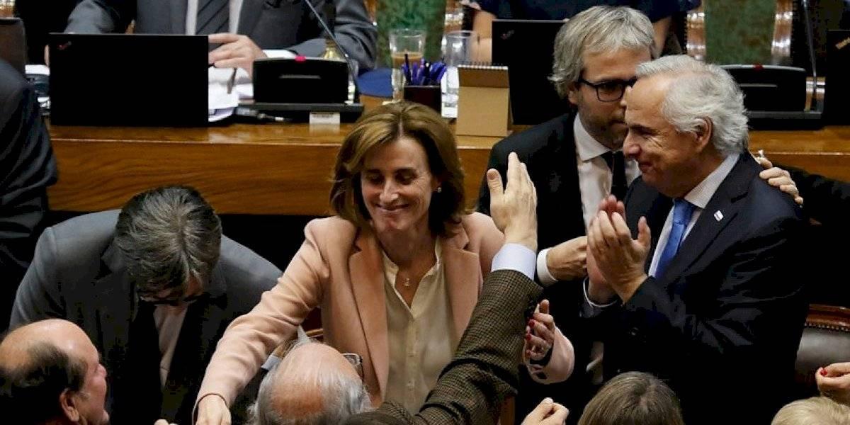 Presidente Piñera le da un espaldarazo a Marcela Cubillos tras superar acusación constitucional