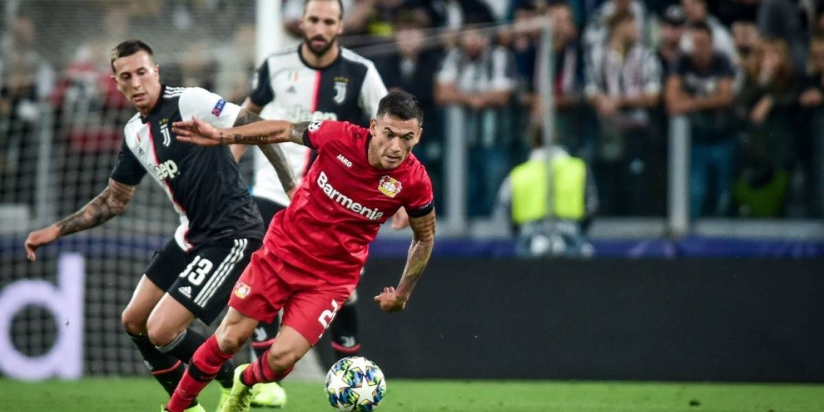 Cristiano y su Juventus le dieron una lección de Champions League al Leverkusen de Aránguiz