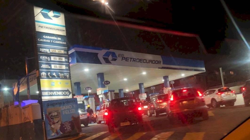 Gasolineras en Quito 1 de octubre Cortesía