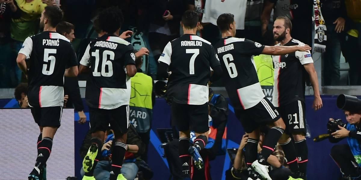 ¡Partidazo de Cuadrado! Juventus renació en la Champions con una contundente goleada
