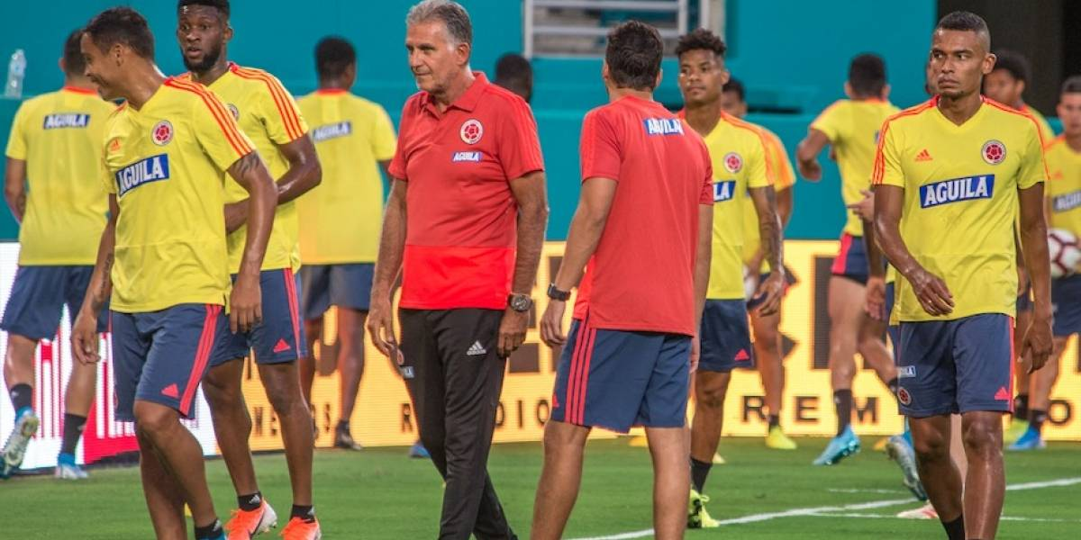 James Rodríguez y Radamel Falcao, ausentes en convocatoria de Colombia