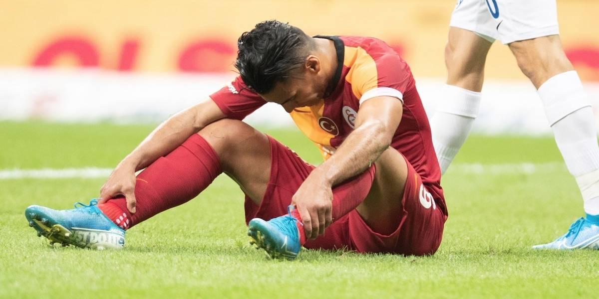 ¿Falcao está muy solo en el Galatasaray? PSG dio el golpe y apagó al fiesta en Estambul