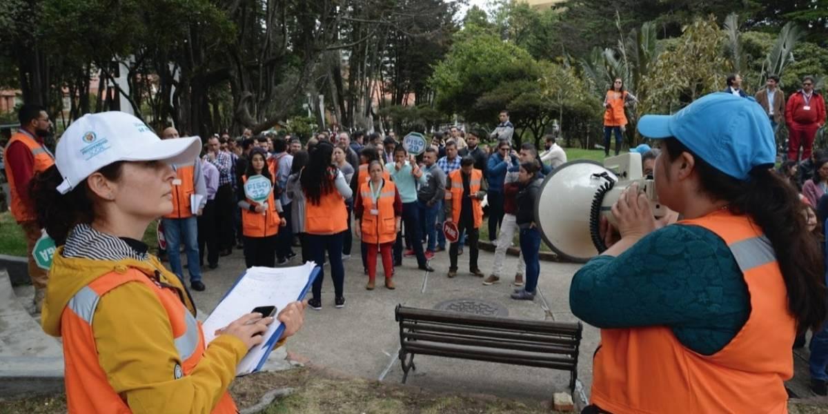 ¡Prepárese! Hoy se realizará el simulacro de evacuación en Bogotá