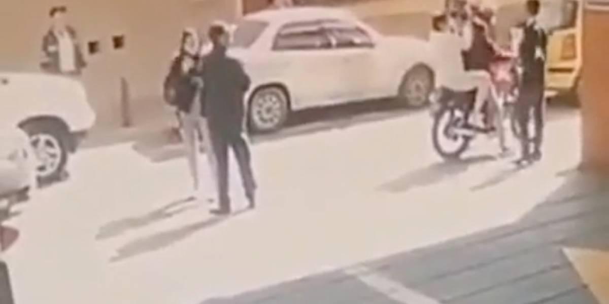 El video de la fuga de Aída Merlano de un centro médico en Bogotá