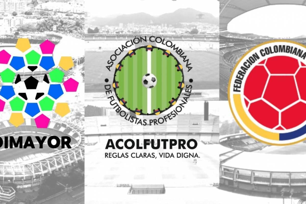 Resultado de imagen para reunion entre  Acolfutpro, Dimayor y la Federación Colombiana de Fútbol