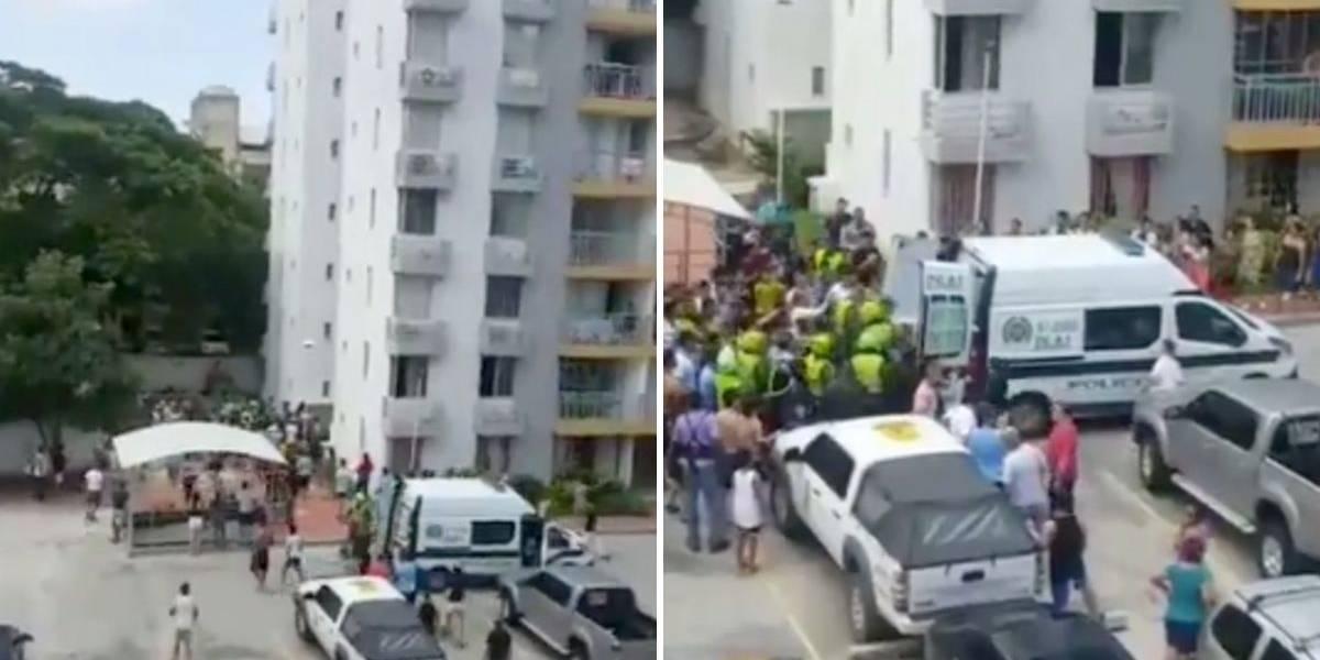 (VIDEO) Comunidad casi lincha a sujeto que iba a violar a una pequeña dentro de un ascensor