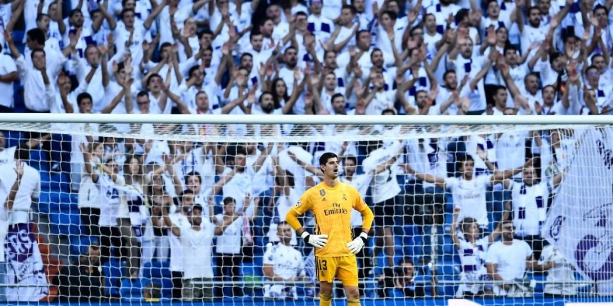 Areola entró en el segundo tiempo del Real Madrid vs Brujas