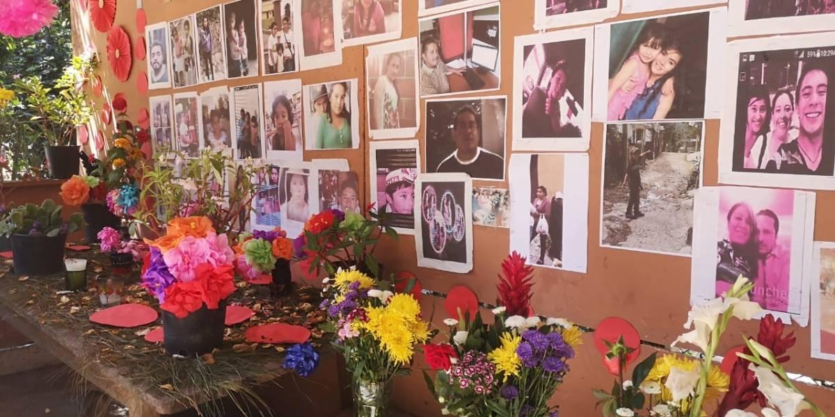 Recuerdan a víctimas en El Cambray, cuatro años después de la tragedia