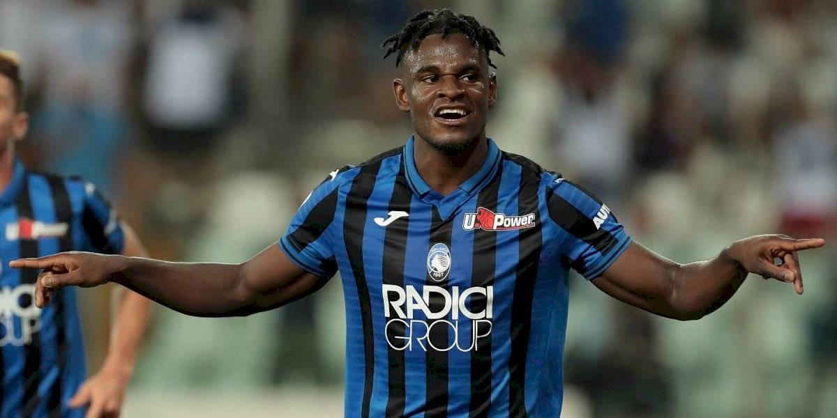 ¡El emperador Zapata! Duván anotó el primer gol del Atalanta en Champions
