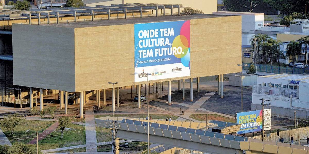 Estado autoriza início das obras da Fábrica de Cultura em São Bernardo