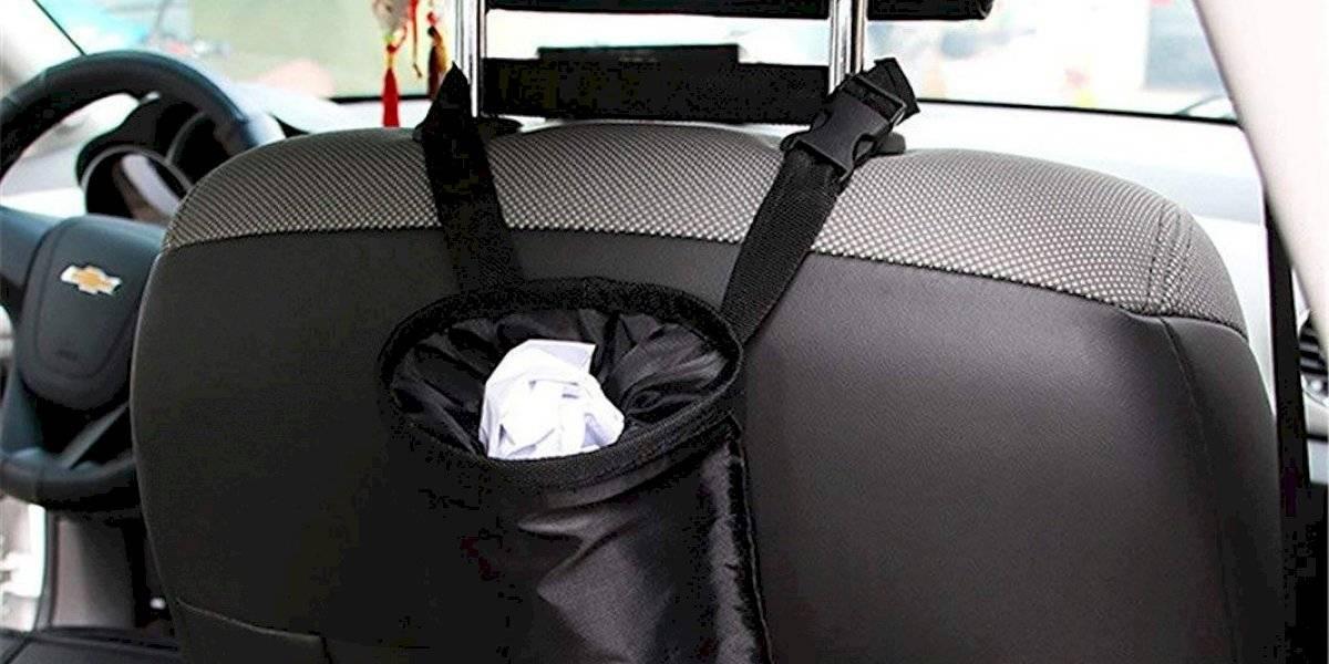 Botes de basura para el auto: la solución de limpieza que esperabas