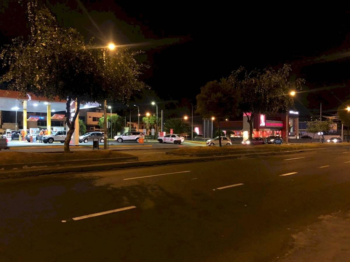 Gasolinera Quito