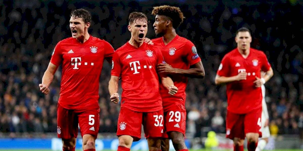 Bayern Munich humilló al Tottenham en Londres con goleada de escándalo en la Champions League