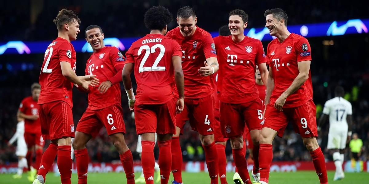 Bayern Munich aplasta al Tottenham en Champions League
