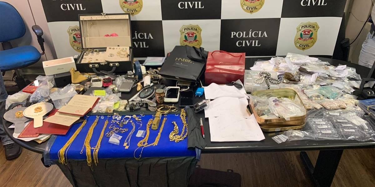 Empresários do ramo de joias são suspeitos de comprar produtos roubados