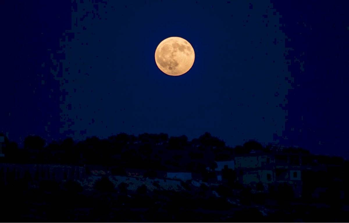 Luna Llena 13 de Octubre 2019