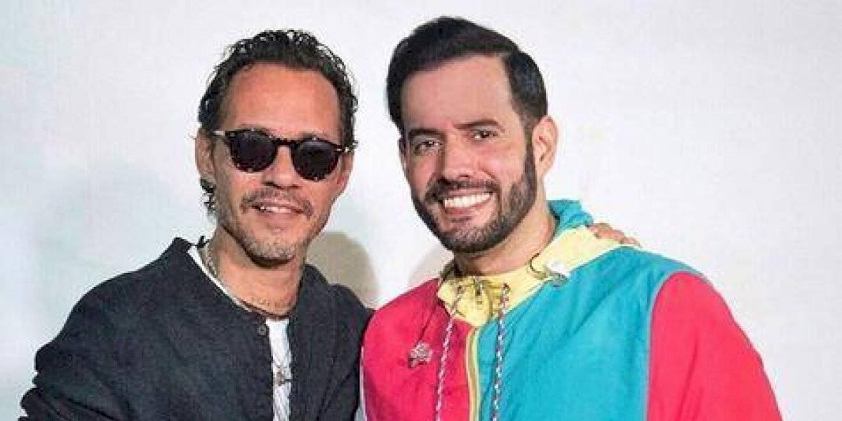Manny Cruz abrió concierto de Marc Anthony en Punta Cana