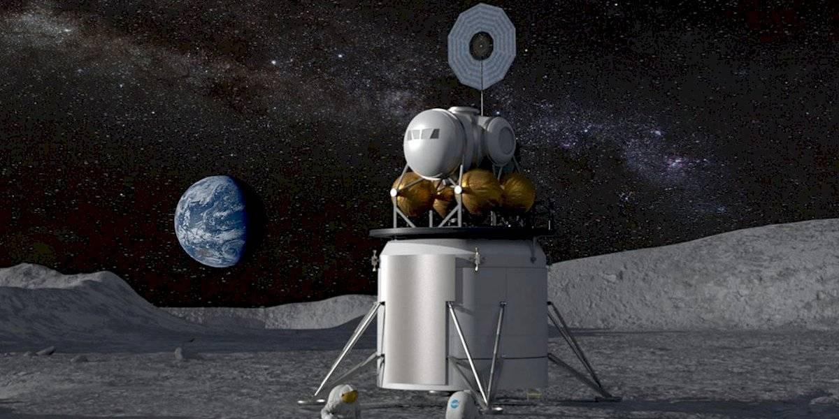 La NASA quiere que las empresas presenten propuestas de módulos lunares para llevar gente al satélite