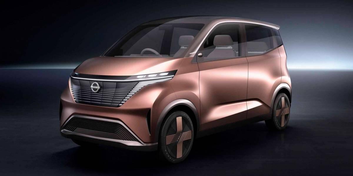 Nissan IMk es el nuevo concepto autónomo y eco friendly